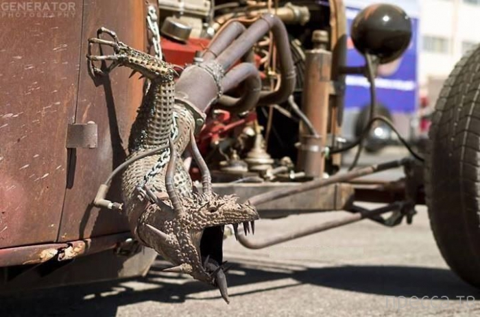 Автомобильные приколы, часть 4 (34 фото)