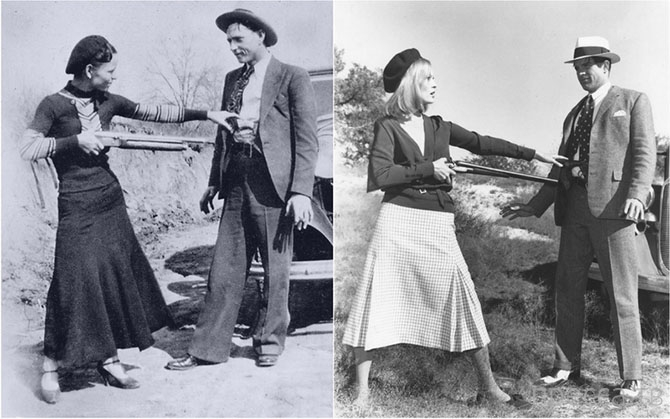 Американская легенда - Бонни и Клайд (20 фото)