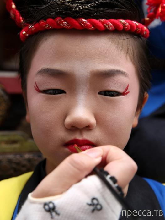 Фестиваль кукол Микуни в Японии (14 фото)
