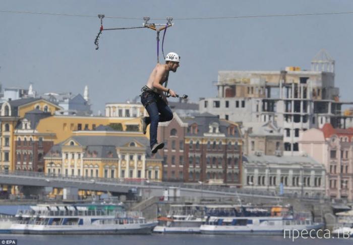 Киевские экстремалы. Жесть (7 фото)