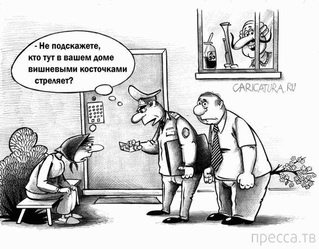 Веселые комиксы и карикатуры, часть 135 (17 фото)