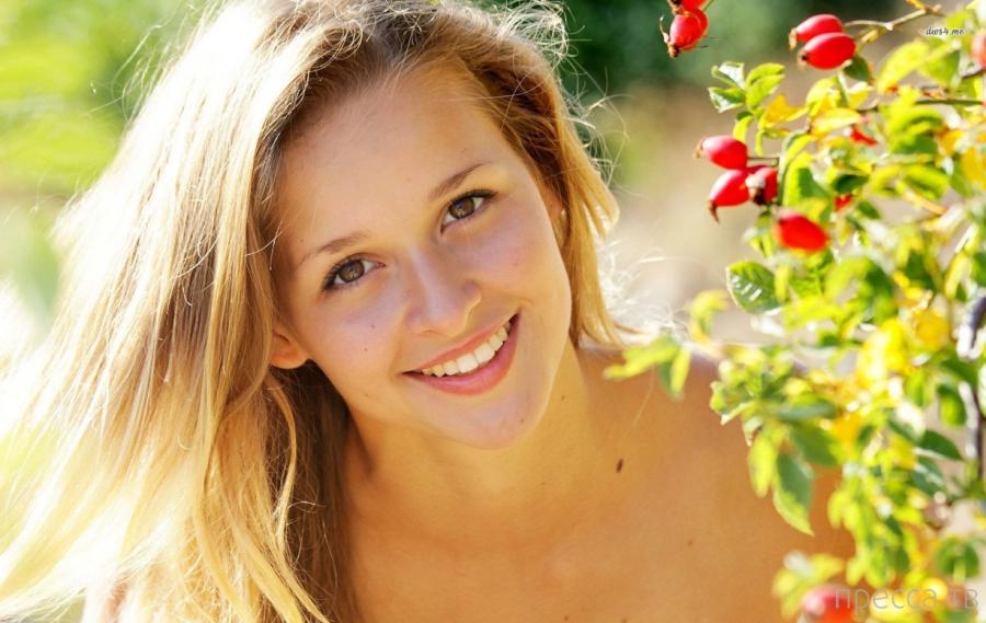 Заряд позитива. Красивые девушки улыбаются (36 фото)
