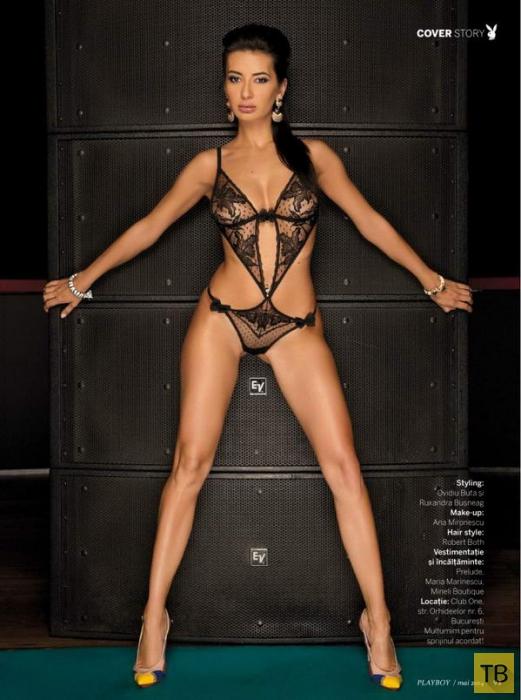 (18+) Диджей Харра в журнале Playboy (9 фото)