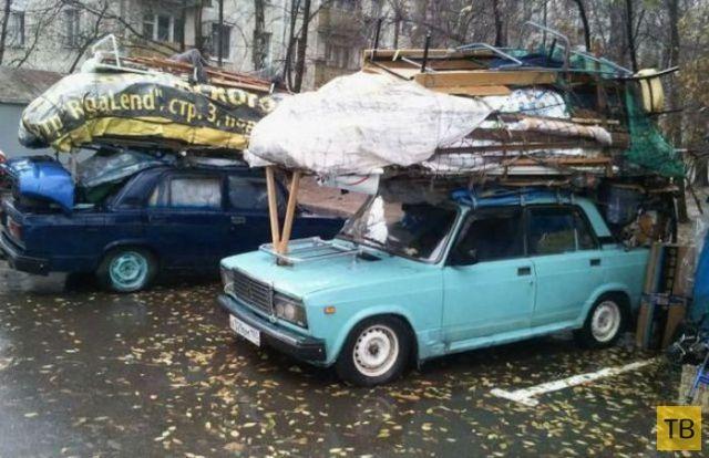 Прикольные фотографии из серии: Тем временем в России, часть 4 (38 фото)