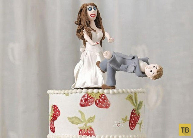 Торт на развод от Фэй Миллар (9 фото)