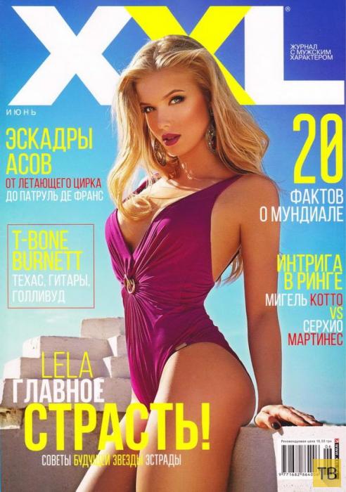 (18+) Ольга Третьяченко на обложке июньского номера журнале XXL (9 фото)