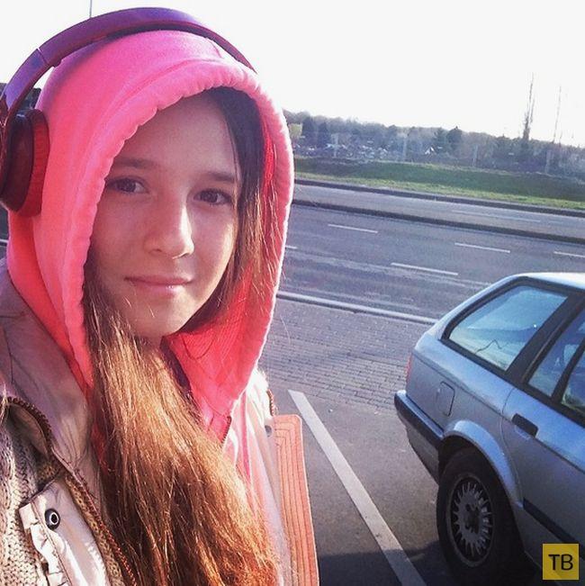 """Дарья Касаткина - российская теннисистка, завоевавшая кубок """"Роллан Гаррос"""" среди юниорок (20 фото)"""