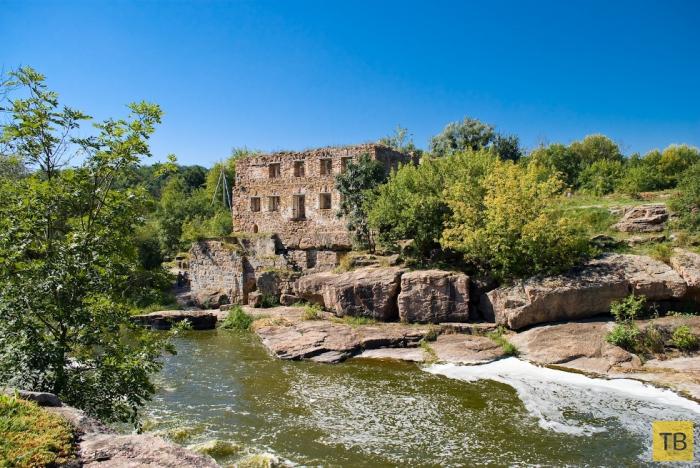 Букский каньон в Украине (7 фото)