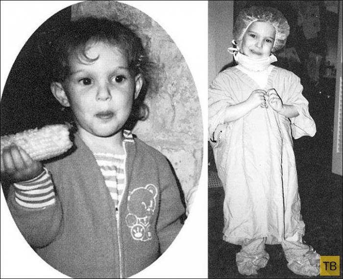 Детские и юношеские фото зарубежных знаменитостей (91 фото)