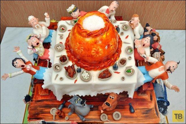 Необыкновенные торты (18 фото)