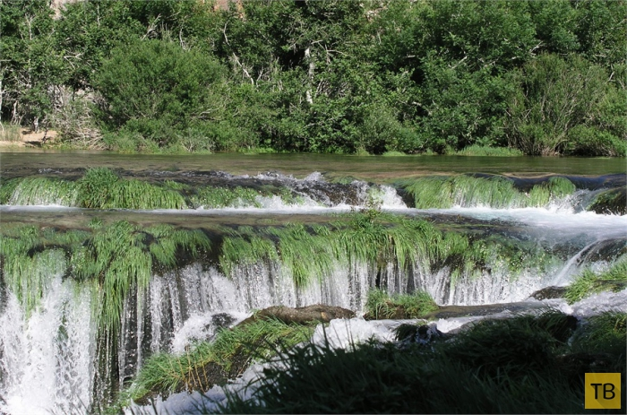 Зрманя - самая красивая река Хорватии (7 фото)
