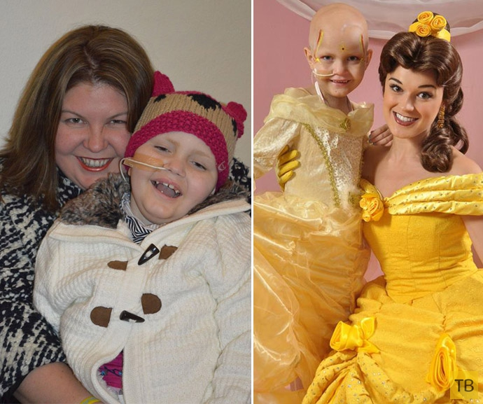 Девочка победила рак мозга (4 фото)