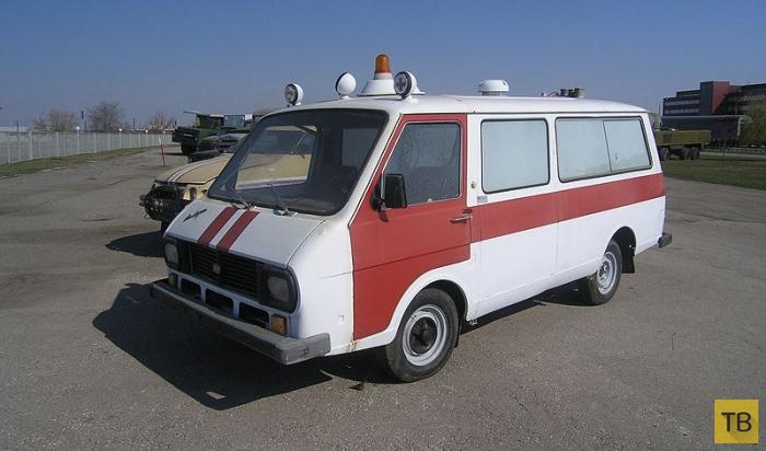 Автомобили из республик бывшего СССР (7 фото)