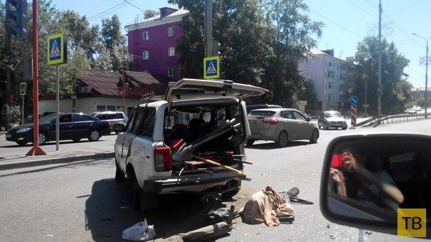 Жесть!!! Погибла молодая женщина... Страшное ДТП в г. Красноярск