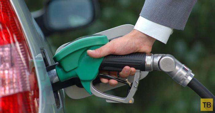 Как на АЗС разводят водителей, заправляющих полный бак (2 фото)