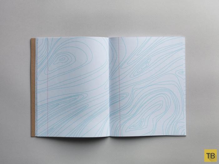 Креативная тетрадь в линейку (9 фото)