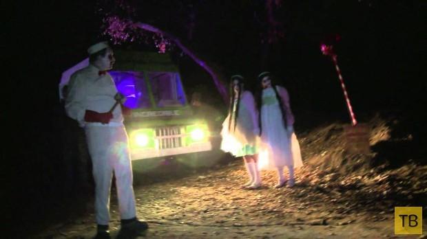 Туристический маршрут для любителей фильмов ужасов (4 фото)