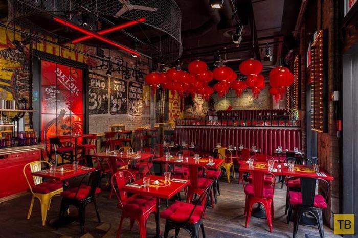 Шанхайское ретро-бистро «Spiler Shanghai» в Будапеште (9 фото)