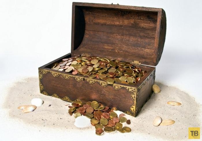 Топ 10: Сокровища и клады, которые до сих пор еще не найдены (11 фото)