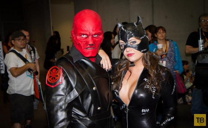 Comic-Con - самый большой в США фестиваль костюмов (7 фото)