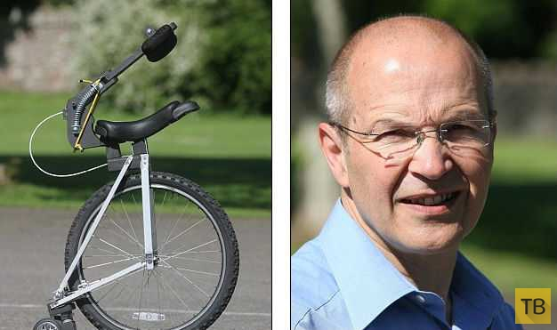 Физик представил транспорт будущего - одноколесный беспедальный велосипед (4 фото)