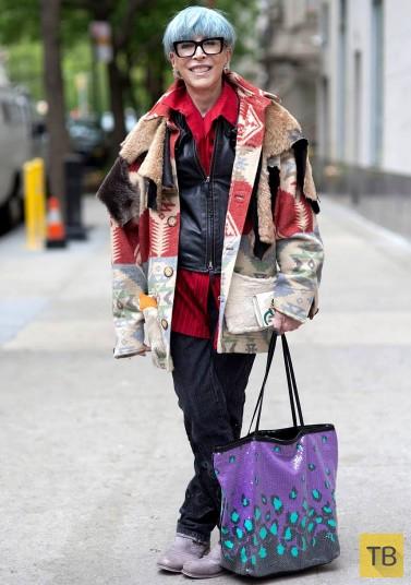 Модные бабушки берут Нью-Йорк штурмом (16 фото)