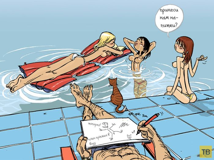 Веселые комиксы и карикатуры, часть 143 (17 фото)