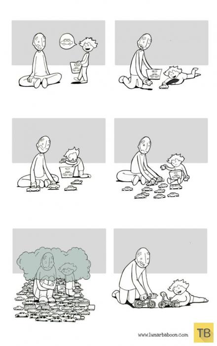 Веселые комиксы и карикатуры, часть 144 (12 фото)