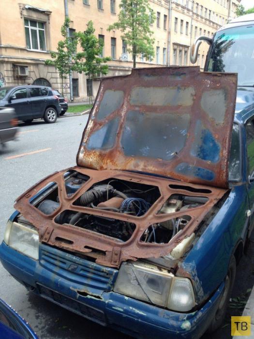 Автомобильные приколы, часть 7 (25 фото)