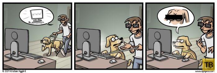 Веселые комиксы и карикатуры, часть 145 (15 фото)