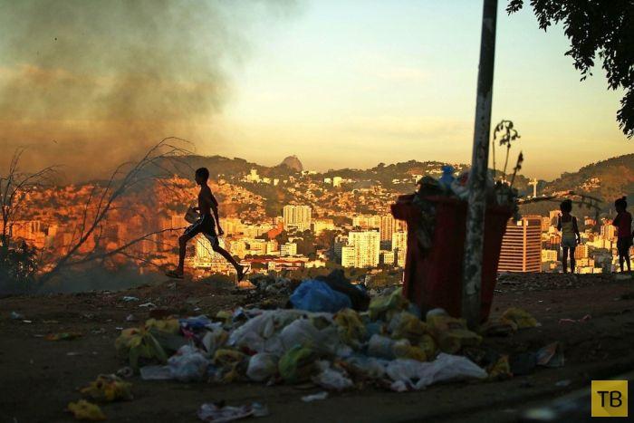 Обратная сторона Чемпионата Мира по футболу в Бразилии (37 фото)