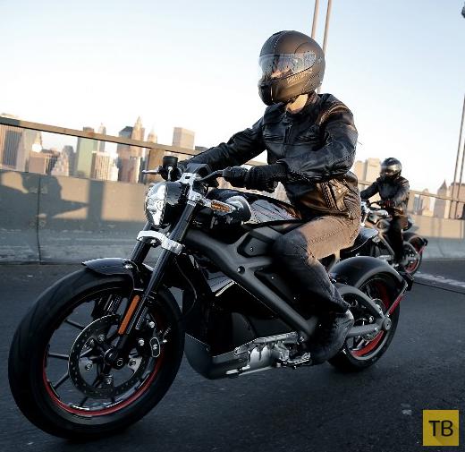 Первый электрический Harley-Davidson (7 фото)
