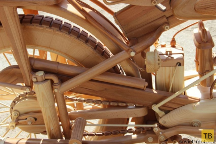 ИЖ-49 из дерева в масштабе 1:1 (29 фото)