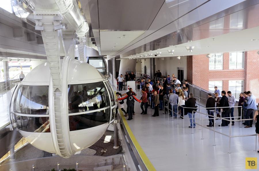В Лас-Вегасе самое высокое колесо обозрения в мире (10 фото)
