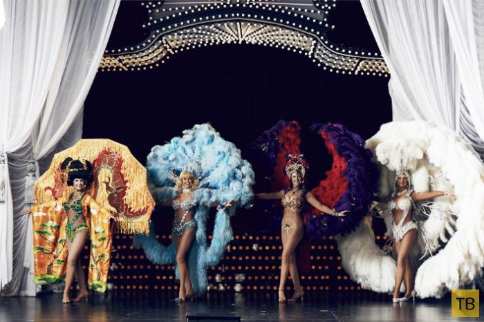 Одно из самых странных шоу Америки в фотографиях Даниэля Левитта (19 фото)