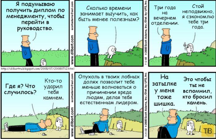 Веселые комиксы и карикатуры, часть 149 (16 фото)