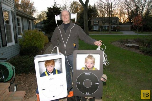 Папы и дети  (34 фото)