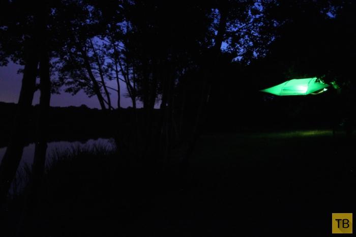 Tentsile - портативный домик на дереве (7 фото)
