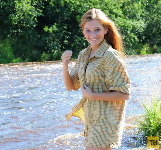 Смешная рыжая девчонка (11 фото)