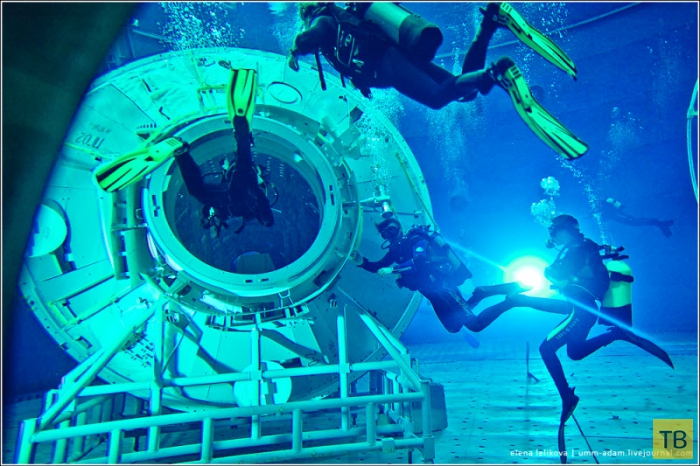 Как космонавты готовятся работать в открытом космосе (18 фото)