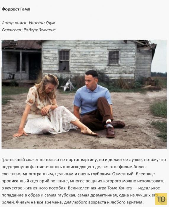 Топ 19: Самые удачные экранизации литературных произведений (19 фото)