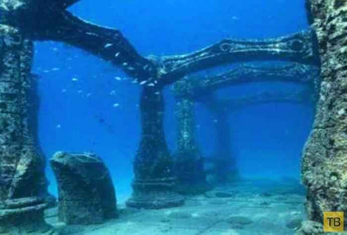 Топ 5: Невероятные подводные города (5 фото)