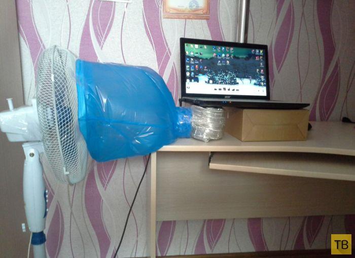Охлаждение ноутбука во время летней жары (3 фото)