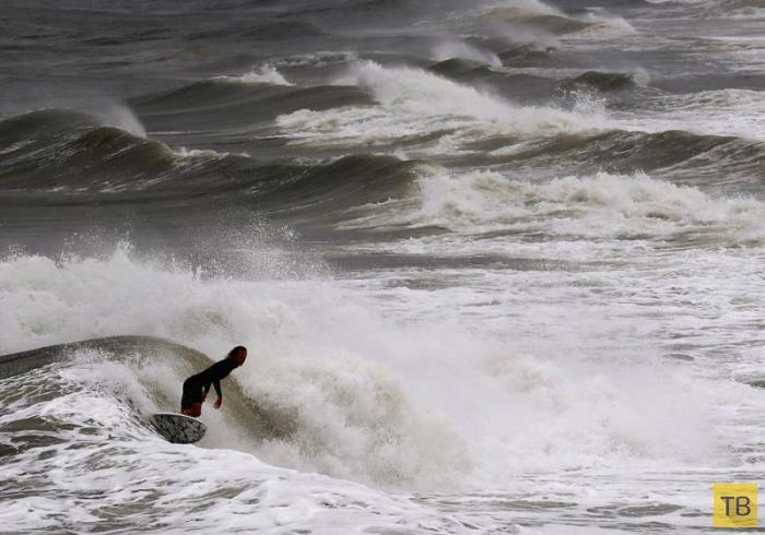 Ураган Артур на Восточном побережье США (11 фото)