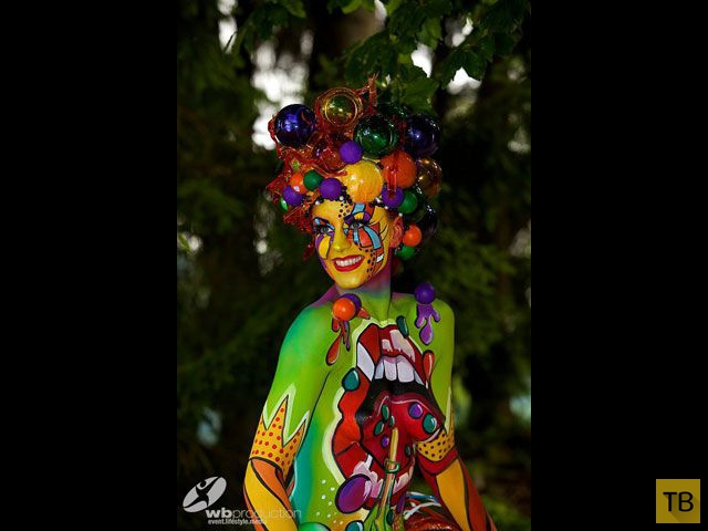 Лучшие работы Всемирного фестиваля бодиарта 2014 в Австрии (44 фото)