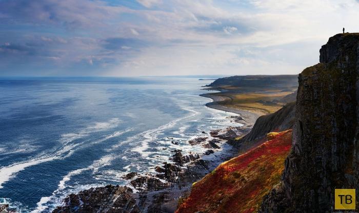 Прекрасные пейзажи полуострова Рыбачий (25 фото)