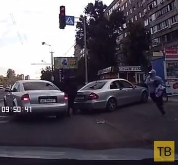 Ограбление средь бела дня... г. Днепропетровск, Украина