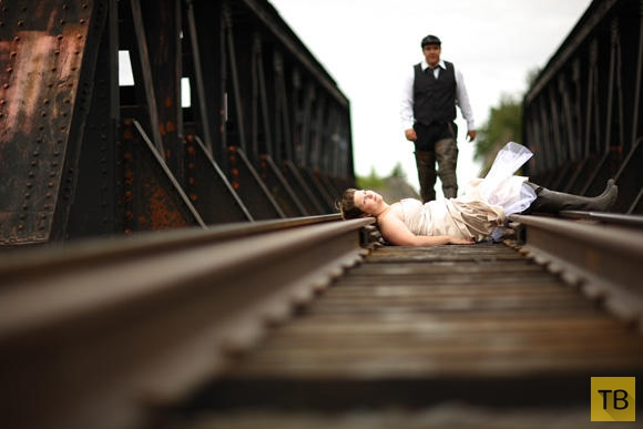 Свадебные треш-фотографии (26 фото)