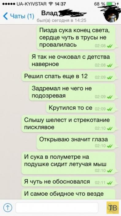 """Жуткий """"Незваный гость"""" (8 фото)"""