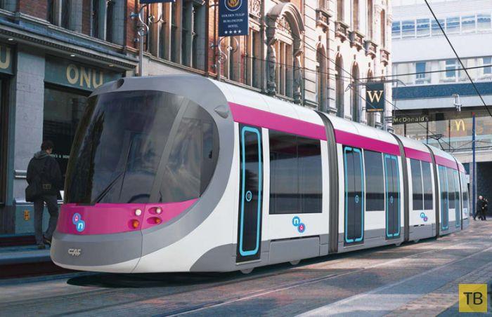 Есть ли будущее у городского трамвая R1? (9 фото)